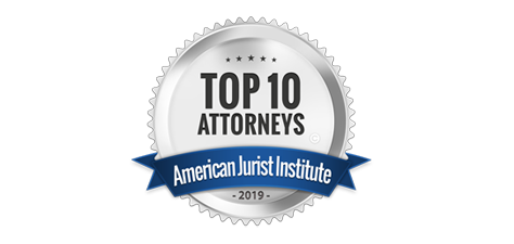 American Jurist Institute's Top 10 Attorneys Award